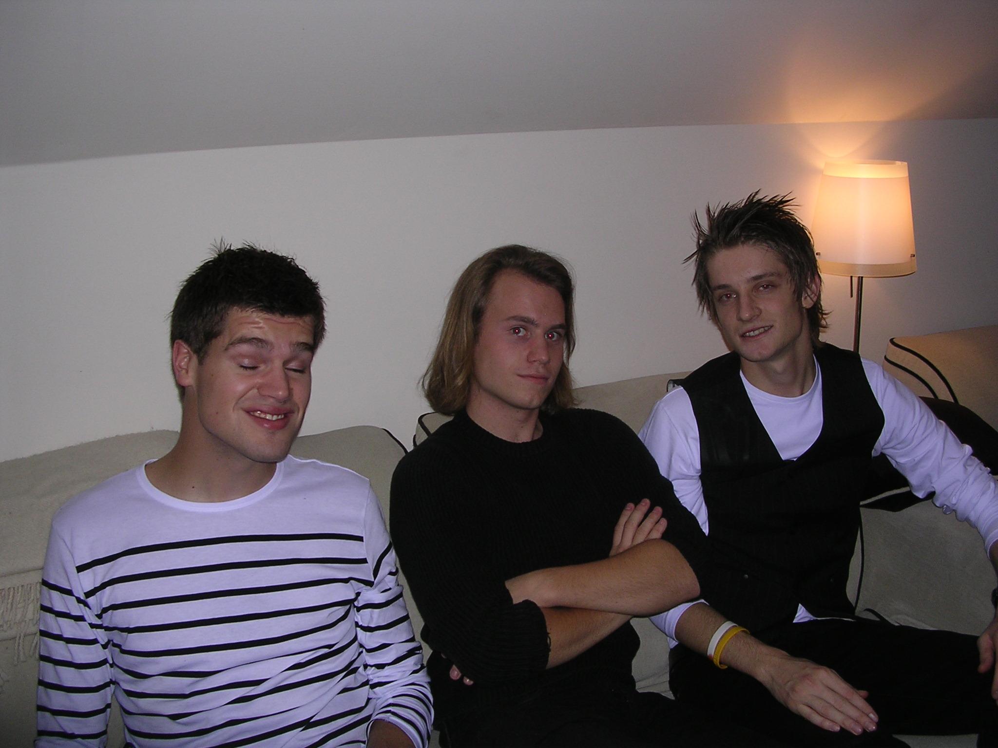 Joakim, Kristian og Kim