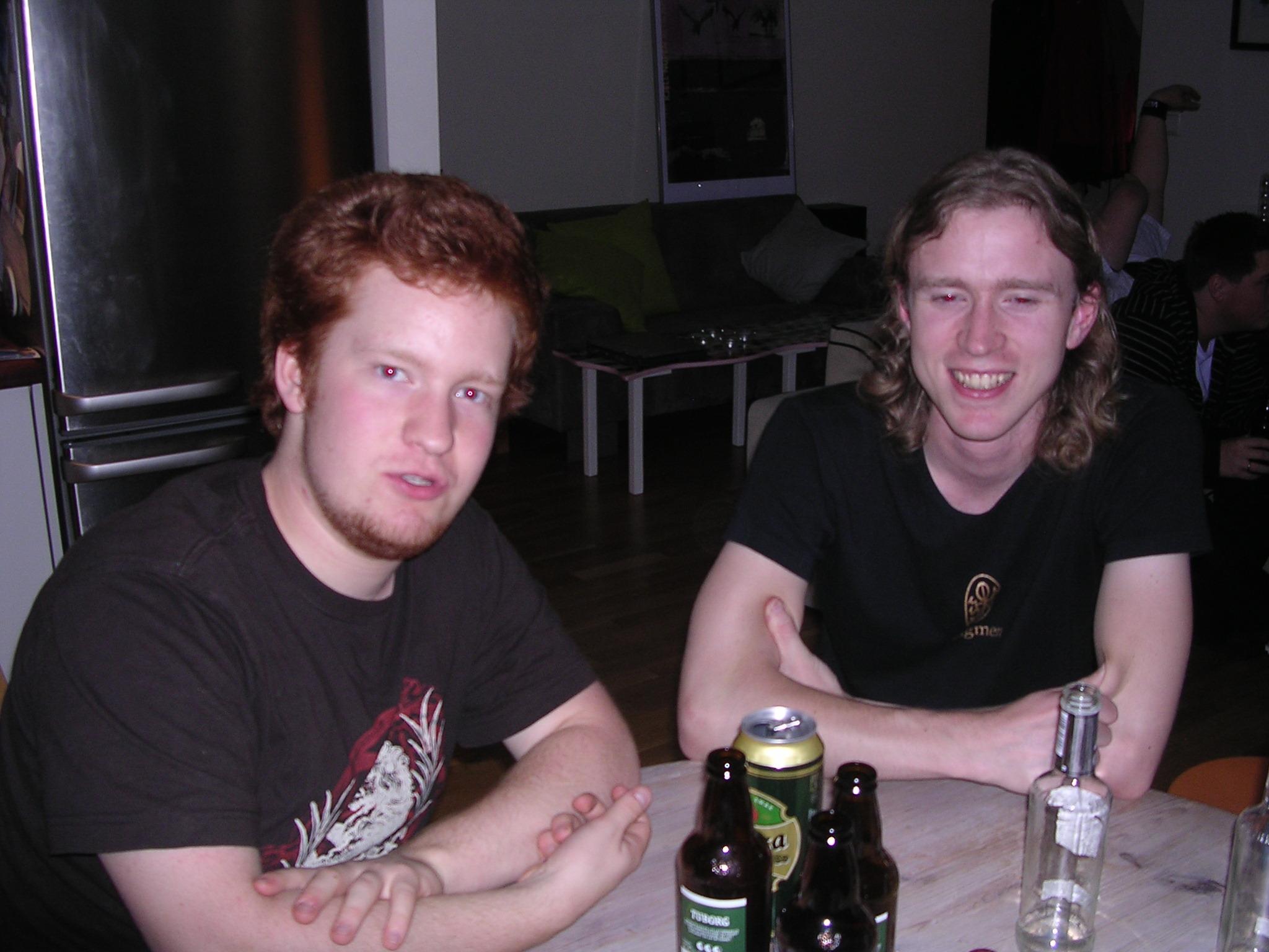 Erik og Kevin